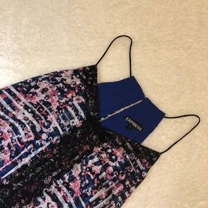 Express Lace and Multi-Color Tank